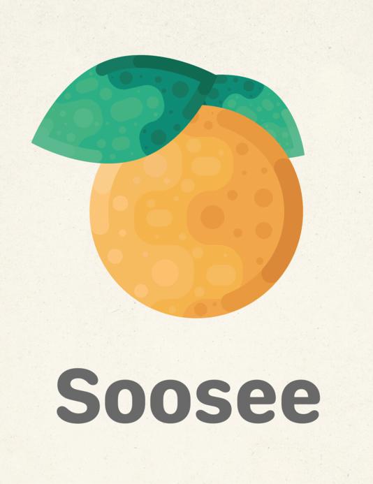 Het logo van de Soosee-app.
