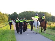 Feestvierende jongeren bij Dobbeplas door politie weggestuurd