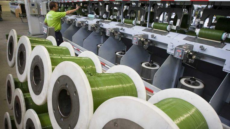De fabriek van Ten Cate in Nijverdal Beeld null