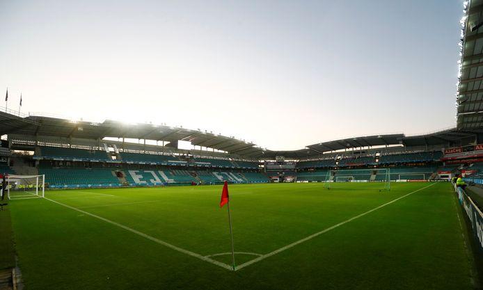 De A. Le Coq Arena in Tallinn, hoofdstad van Estland. De thuishaven van FCI Levadia, mogelijk de tegenstander van Vitesse in de derde voorronde van de Conference League.