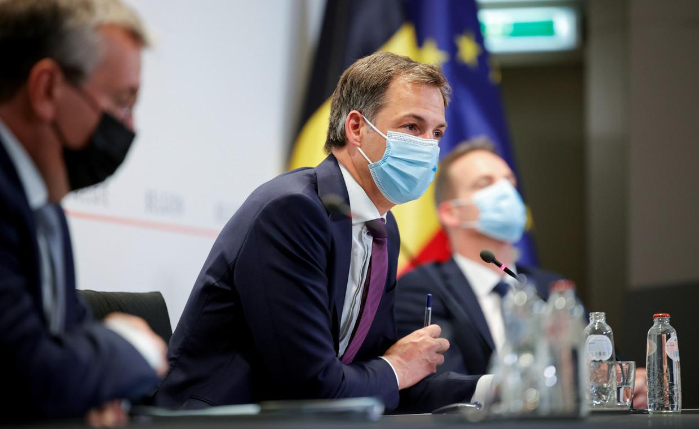 Premier Alexander De Croo (Open Vld) Beeld REUTERS