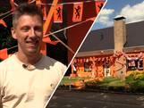 Joris schilderde huis oranje: 'Idee ontstond na biertjes'