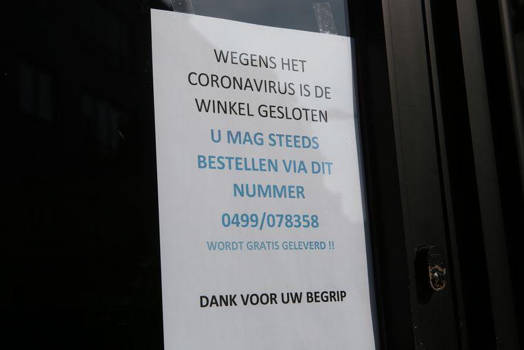 Interieurwinkel The Shop in de Leuvensestraat is gesloten.