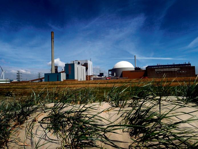 De kerncentrale in Borssele.