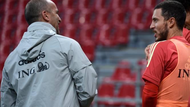 """Martínez geeft hoop op Hazard en Witsel niet op: """"We moeten stoppen met zo extreem negatief te zijn"""""""
