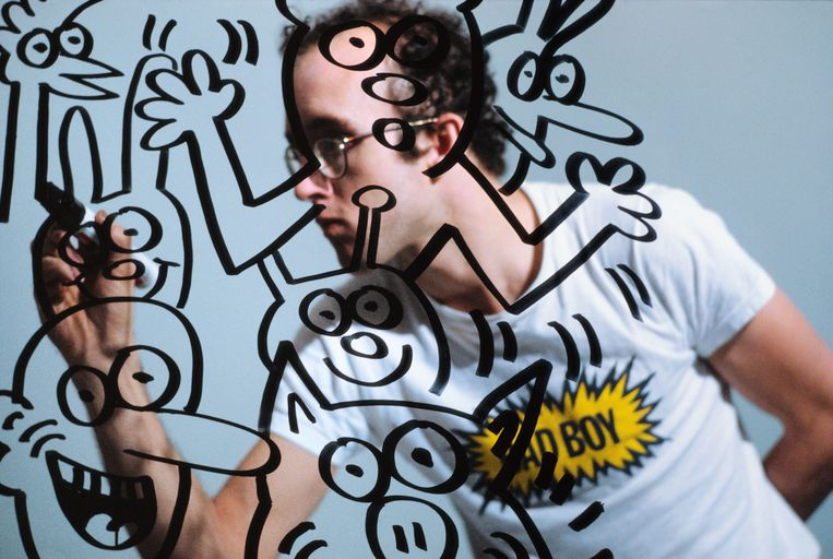 Keith Haring. Beeld RV © Muna Tseng Dance Projects,