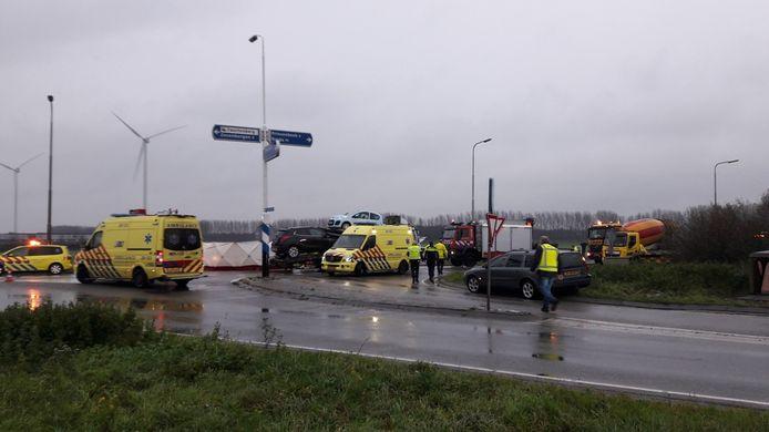 Ongeval Zevenbergseseweg.