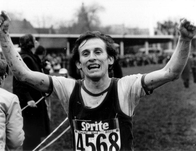 Vier jaar na zijn zilveren medaille in München pakt Karel Lismont in 1976 brons in Montreal.    Beeld BELGA