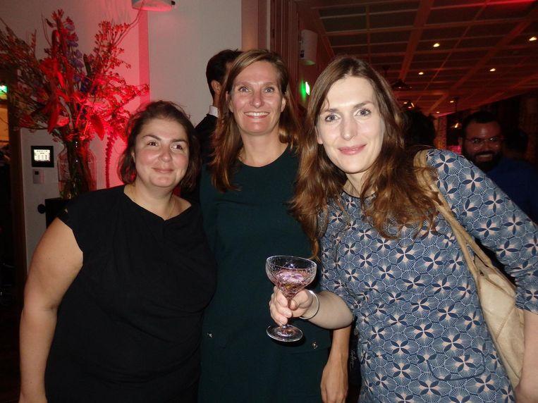 Team uitgeverij Unieboek: Sladjana Labovic, Antje Bosscher en Emke Spauwen. Beeld Hans van der Beek