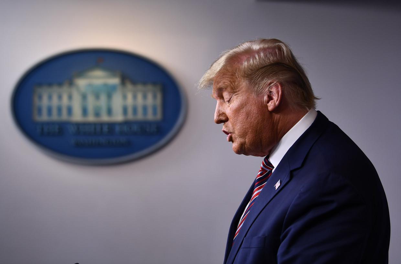 Donald Trump Beeld AFP
