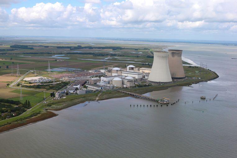 De kerncentrale van Doel (Beveren). Beeld BELGA
