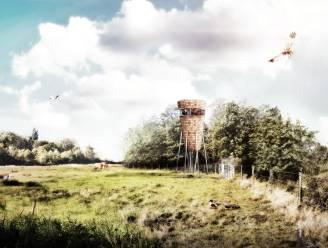 Zo zal de nieuwe uitkijktoren bij de Viconia Kleiputten eruit zien