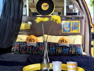 Voor 18 euro overnachten in New York? Slaap in een taxi
