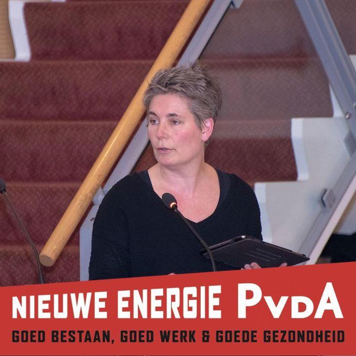 Bea Mieris is als 'lijstduwer' voor de PvdA alleen in Tiliburg en omstreken verkiesbaar voor de Tweede Kamer.