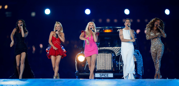 De Spice Girls in 2012