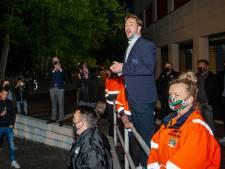 NEC-trainer Rogier Meijer geniet van fans en gelooft in stunt in play-offs: 'Maar Almere is de favoriet'