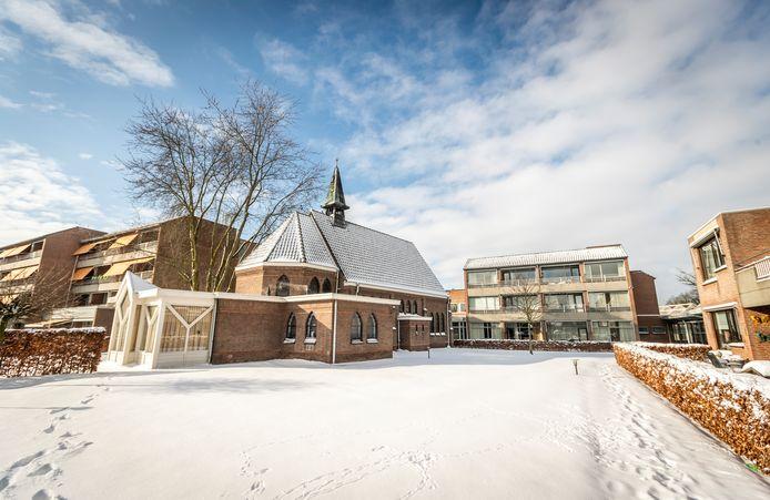De kapel in de tuin van Savant woonzorgcentrum Alphonsus in Mierlo-Hout.