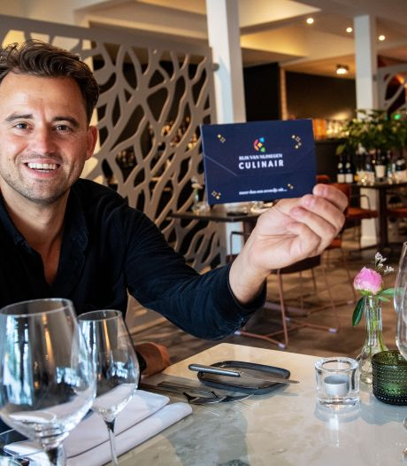 Mendel Janssen komt met unieke restaurantbon: uit eten en een lokaal goed doel steunen