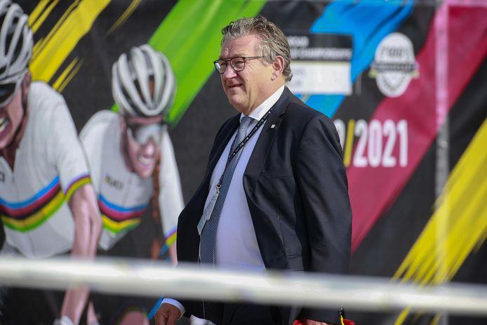 Burgemeester Dirk De fauw kijkt tevreden terug op het WK in zijn stad.