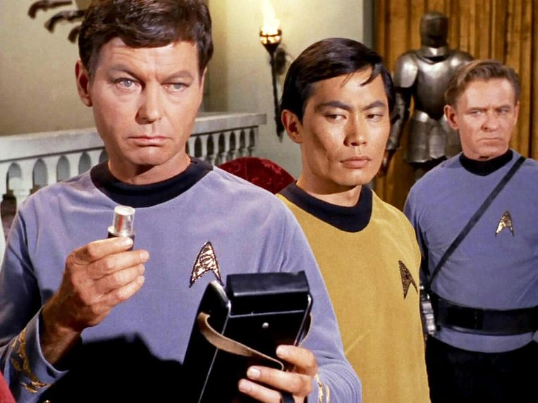 De medische scanner in Star Trek herkent ziektes binnen een paar seconden. Beeld