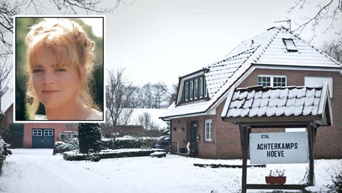 Het huis in het Duitse Halle waar Ricky Westra woonde. Haar man zit nu vast, verdacht van moord op zijn vrouw.
