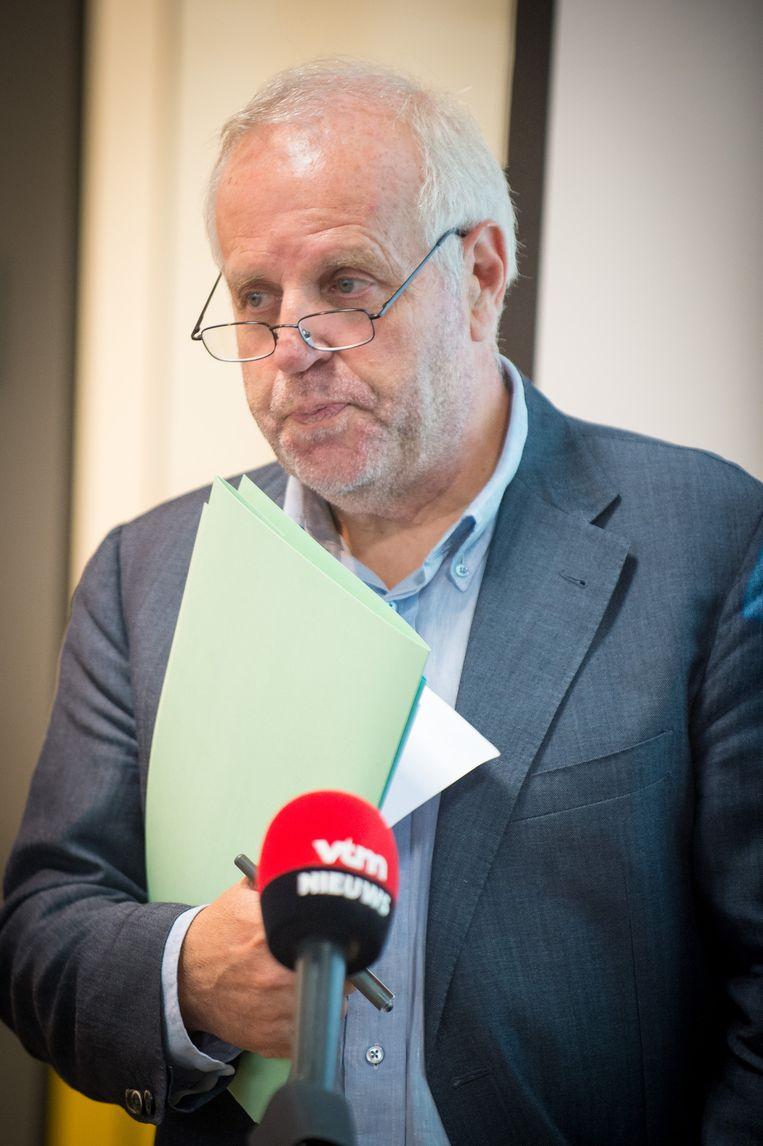 Van der Plaetsens advocaat Johnny Maeschalck Beeld BELGA