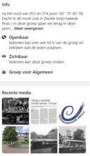 De info op de pagina over Zwolle die op 23 augustus jongstleden het levenslicht zag.