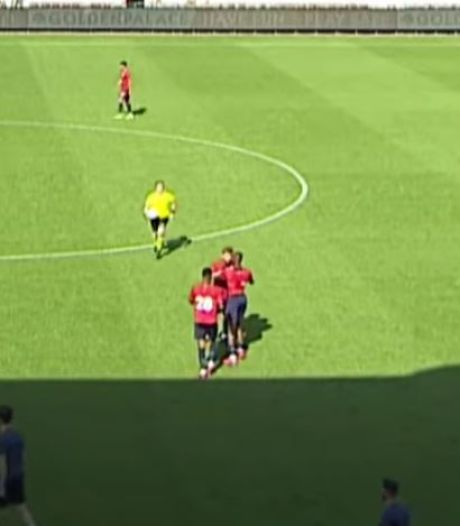 Ploeggenoten Botman gaan met elkaar op de vuist in oefenduel: allebei rood