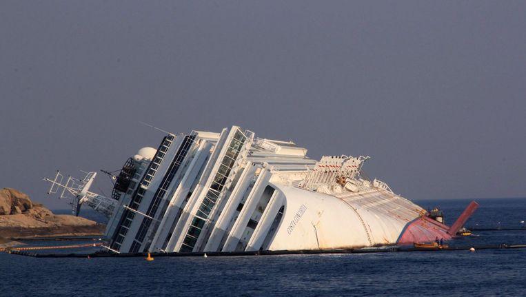 De Costa Concordia. Beeld EPA