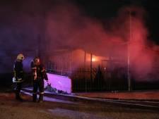 Opvangcentrum voor asielzoekers afgebrand op Griekse eiland Lesbos