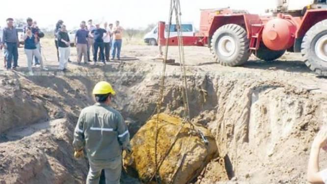 Meteoriet van 30 ton ontdekt in Argentinië