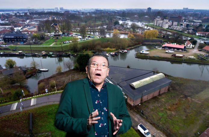Roy Grünewald over het bedrijventerrein Linge II Zuid aan de Spijksesdijk in Gorinchem.