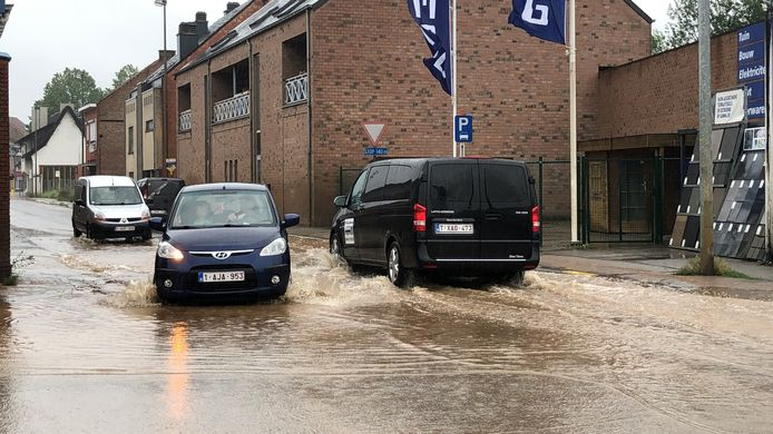 In Tienen loopt de Slachthuisstraat onder.