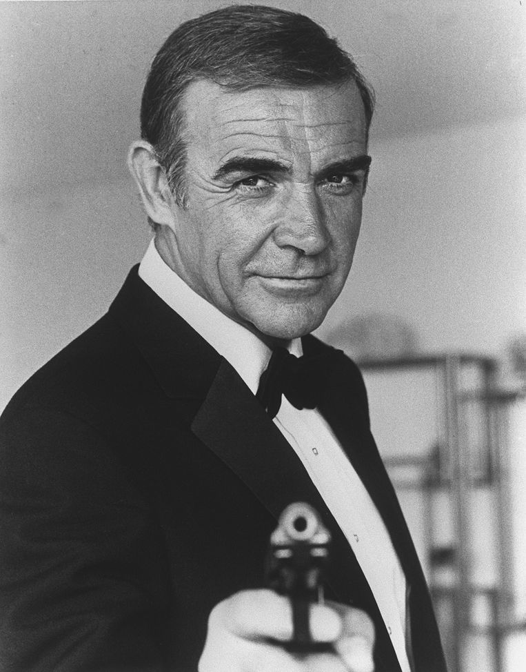 Sean Connery in Never Say Never Again. Beeld AFP