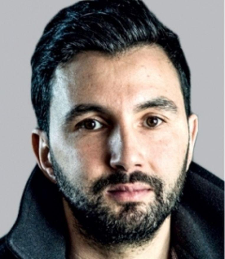 Fikry El Azzouzi: 'Ik zie echt niet meer zo veel verschillen tussen de N-VA en Vlaams Belang.' Beeld