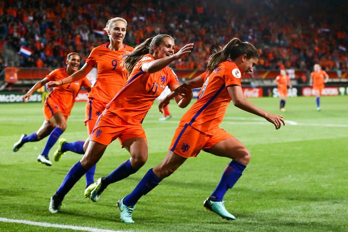 Het Nederlands vrouwenelftal
