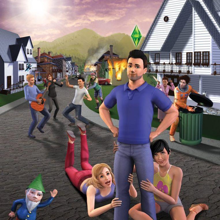 'The Sims'. Beeld rv
