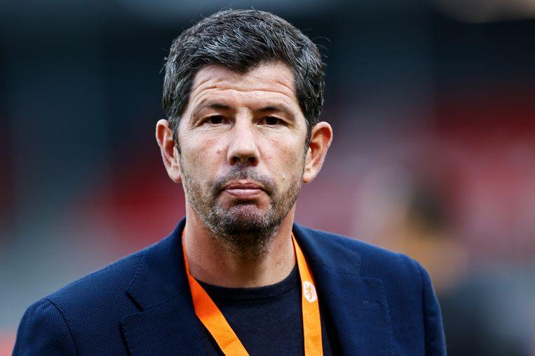 Erwin van Looi, bondscoach van Jong Oranje.  Beeld Hollandse Hoogte /  ANP