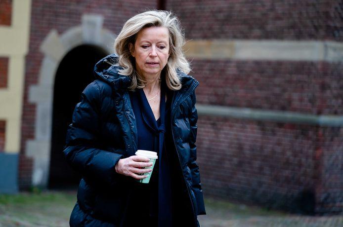 Minister Kajsa Ollongren (D66) van Binnenlandse Zaken en Koninkrijksrelaties, met ook 'wonen' in haar portefeuille.