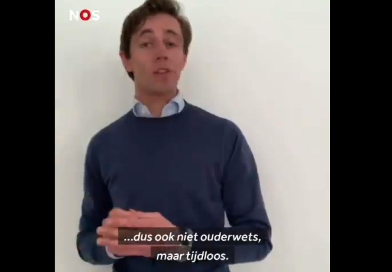 NOS Stories van Van der Tang