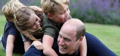 Les adorables photos du prince William en compagnie de ses enfants