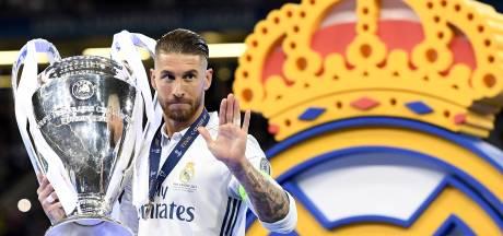 Tranen bij Sergio Ramos tijdens afscheidsspeech: 'Het is onvermijdelijk'