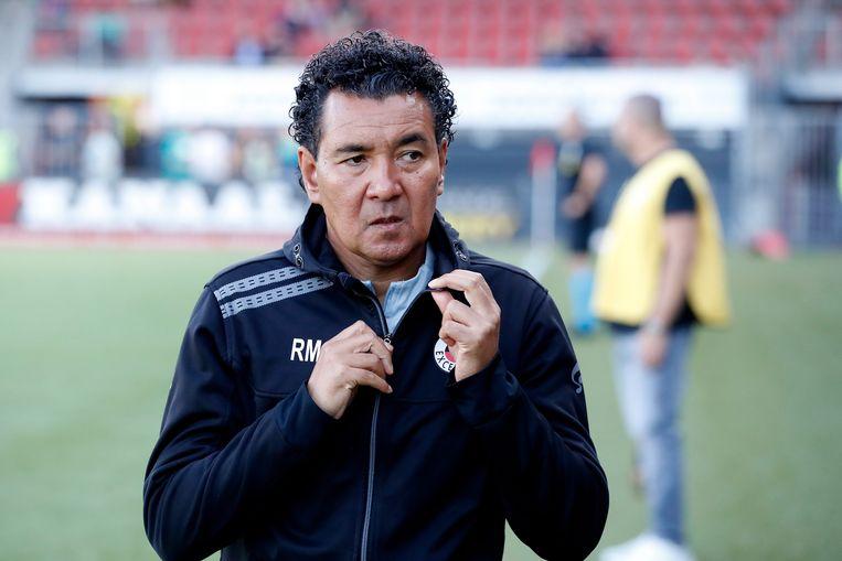 Coach Ricardo Moniz van Excelsior Rotterdam. Beeld BSR Agency