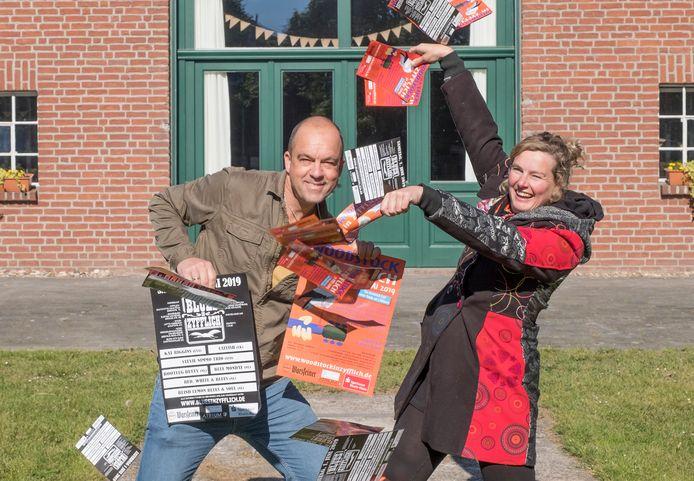 Organisatoren Michel de Vries en Jeannette van Olst van Zyfflich Blues.
