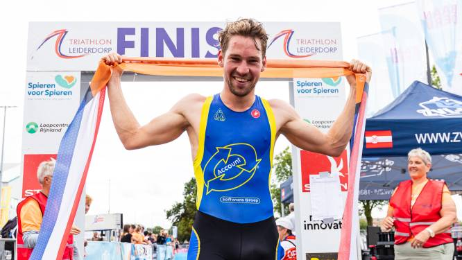 Triatleet Van Egdom pakt Nederlandse sprinttitel