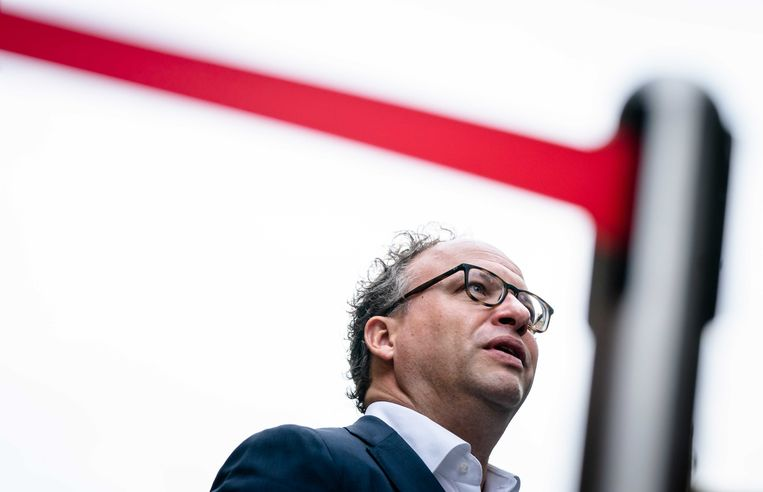 Demissionair Minister Wouter Koolmees van Sociale Zaken en Werkgelegenheid (D66). Beeld ANP