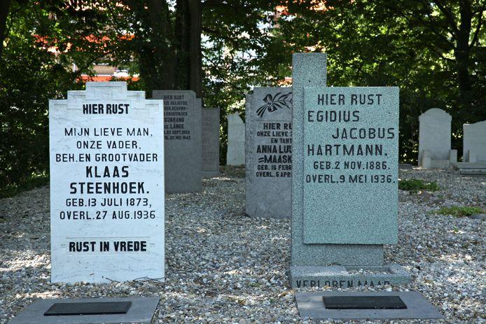 Graven in Rotterdam.