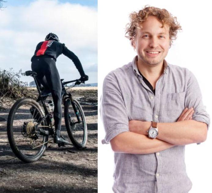 Een hekel hebben aan mountainbikers die zich Van der Poel wanen, daar kan columnist Niels Herijgens nog wel inkomen. Maar een levensgevaarlijke val opzetten...?