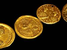 Des centaines de pièces d'or de l'empire romain découvertes sur un chantier