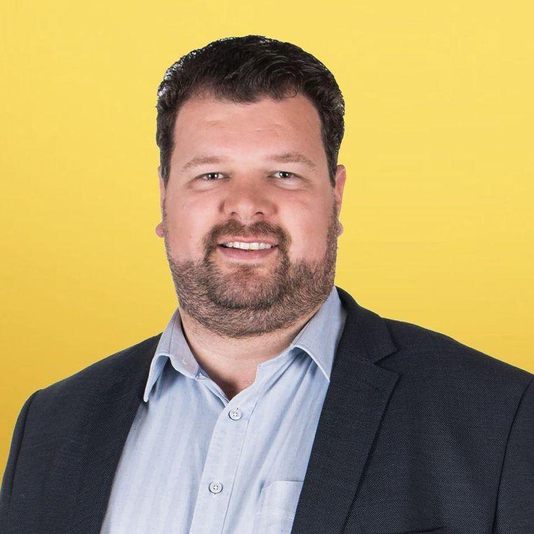 """N-VA-lijsttrekker Sven Snyders uit Boechout. """"Logische gemeenten voor ons zijn bijvoorbeeld Hove of Lint."""""""